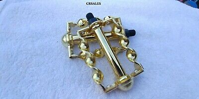 """4-1//2/"""" Gold Twisted Lowrider Bicycle Crank Cruiser Chopper Bike 4-1//2/"""" Pedals"""