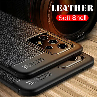 For Samsung Galaxy A70 A50 A40 30 Shockproof Rubber Soft Leather Back Case Cover