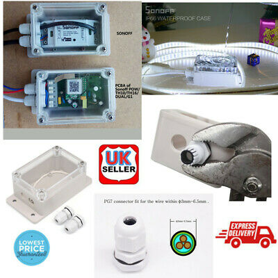 Waterproof Junction Box Cable Switch Water-resistant Shell 132.2*68.7*50.1 mm g9