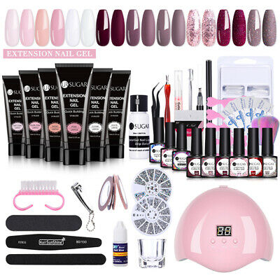 LEMOOC Nail Art Smalto Gel UV Polish Semipermanente Compra 4 Ottieni 4 Gratis