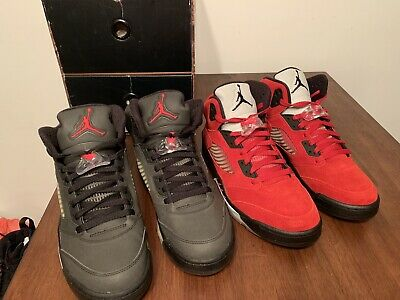 ae61cfbad0d Nike Air Jordan Retro 5 DMP Raging Bull Pack Size 9.5 DS 100% Authentic With