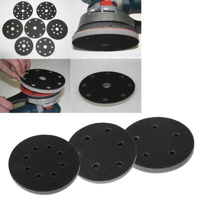1x 125mm/4.9inch 5/6/8 Holes Hook Loop Soft Sponge Cushion Interface Buffer Pad
