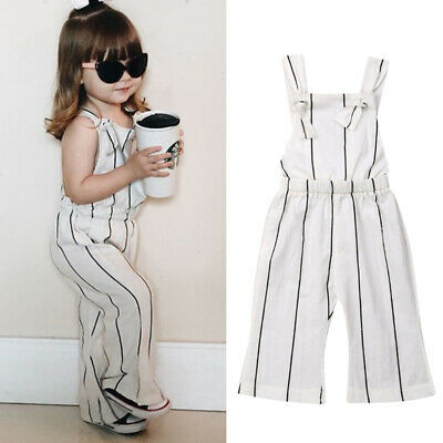 Summer Toddler Kids Baby Girl Clothes Jumpsuit Romper Playsuit One-Pieces Outfit