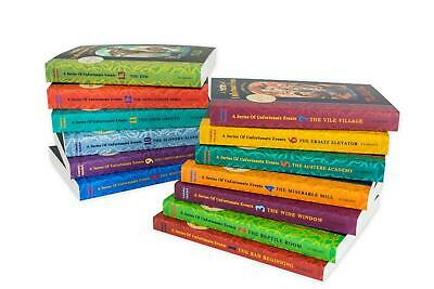 A Series of Unfortunate Events Books Set Lemony Snicket Collection 1-13 pack NEW