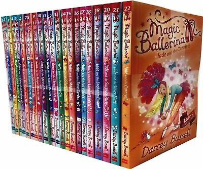 Magic Ballerina 22 Book set Collection by Darcey Bussell Ballet shoes,Magic Spel