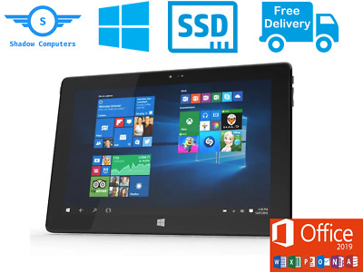 Tablet 64GB SSD 2GB RAM, Windows 10 Laptop with full Microsoft Office 2016