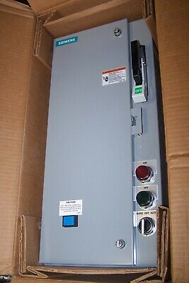 New Siemens Size 0 Combination Motor Starter 120V Coil 5 Hp 18Csb92Bf