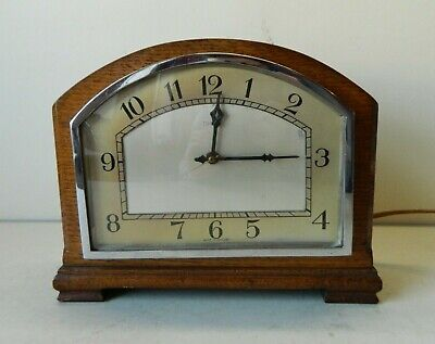 Superb Condition Original Art Deco Ferranti Mantle Clock GWO
