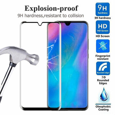 9H Full Glue Tempered Glass Film Protector for Huawei P30 Lite/P Smart Y7 2019