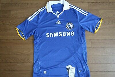 outlet store 65a33 86c0e CHELSEA 100% ORIGINAL Jersey Shirt 2008/2009 Home Kit M Still NWT NEW [2384]
