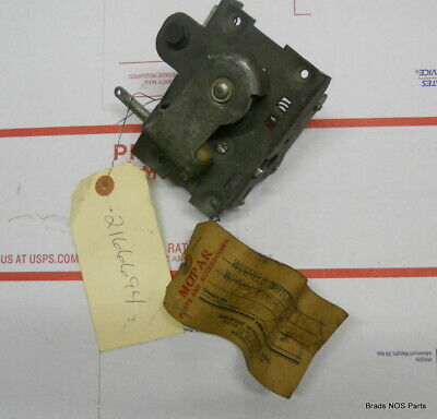 NOS Mopar 1960-1964 Plymouth Dodge DeSoto Chrysler RH DOOR LATCH MECHANISM