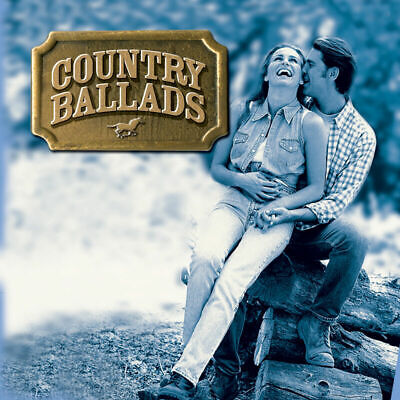 Country Ballads CD Best Of Country Music Classic Tracks Gift Idea NEW UK