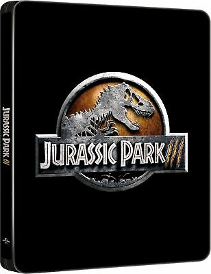 Jurassic Park 3 Official Limited Edition Steelbook - 4K Ultra HD + Blu ray NEW