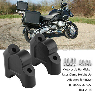 CNC Handlebar Bar Riser Height Up Adapter 28mm For BMW R1200RS 2015 16 17 2018