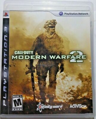 Call Of Duty Modern Warfare 2 Playstation 3 Ps3 Video Game New Factory Sealed