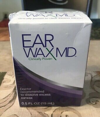 Earwax MD Earwax Removal Kit With Rinsing Bulb New