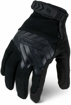 Ironclad Command Series Tactical Pro Gloves Black 12 Pack