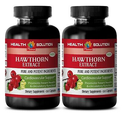 boost immune system - Hawthorn Extract 665mg - multivitamin supplement 2B