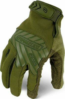 Ironclad Command Series Tactical Pro Gloves OD Green 12 Pack