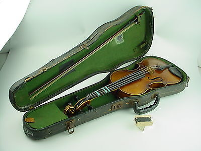 Copy of Antonius Stradivarius Faciebat Cremona 1713 3/4 Violin w/Hard Case+ Bow