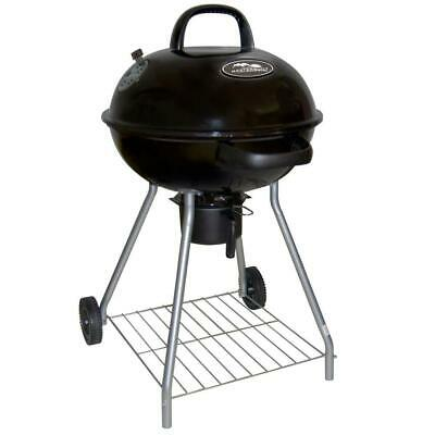 155e76ea902 Masterbuilt Charcoal Kettle Grill 22.5 in. Outdoor Backyard BBQ Cooking