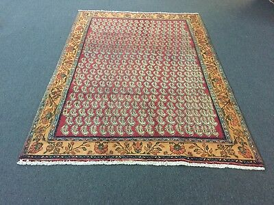 On Sale Great  Genuine Hand Knotted Persian Area Rug Carpet Geometric