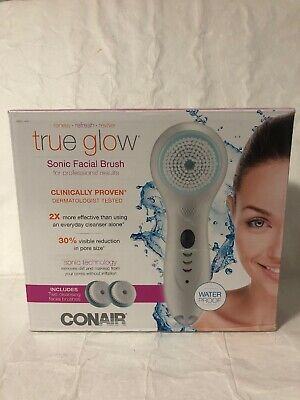 True Glow by Conair Sonic Facial Brush Skincare System