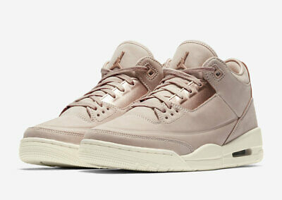 9e4c19260ae6 2018 WMNS Nike Air Jordan 3 Retro SZ 9 Beige Metallic Red Bronze AH7859-205