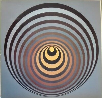 Victor Vasarely OERVEGN-II heliogravure on paper 1968  Edition du Griffon
