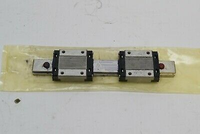 NB Nippon Bearing Miniature Linear Slide Guide with (2) NB SEB16 - GUARANTEED!