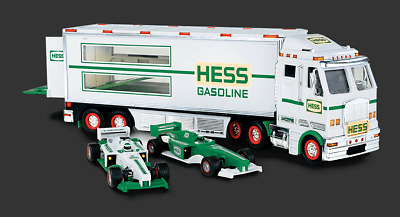 HESS Toy Truck And Racecars