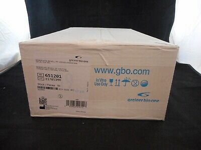 GREINER Plastic 96-Well Non-treated Polypropylene Microplates V-Shaped 100/CASE