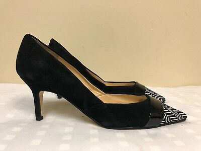 b5cd3314a6 IVANKA TRUMP KELLSEE Leather Lace Up Pumps, Women's Size 8M, Black ...