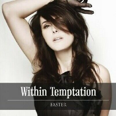 "Within Temptation ""Faster"" Cd 2 Track Single New!"