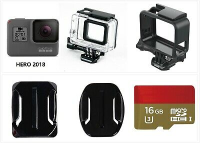 Refurbished GoPro HERO 4 Session Waterproof 1080P HD Action Camera w/ accessory