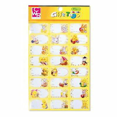 Self Adhesive Labels for Packs Gift Soprapacco 48 Stickers Subjects Pasquali