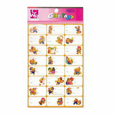 Self Adhesive Labels for Packs Gift Soprapacco 48 Pieces Generic Assorted