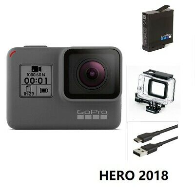 Used GoPro HERO 4 Session Waterproof 1080P HD Action Camera original accessories