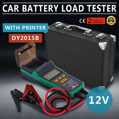 Battery Tester for 12V Lead-Acid Battery With Printer Pro LCD Diagnose PRO