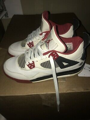 cheap for discount 7c975 ee7ea Nike Air Jordan Retro 4 IV 2006 Mars Blackmon Fire Red Spike Lee Size 5.5