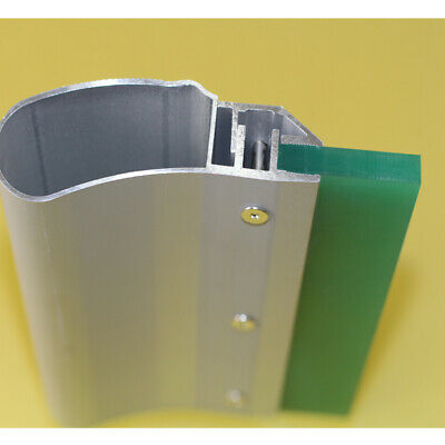 6 inch Aluminum Screen Printing Squeegee 70 Durometer Blade-- 4pc