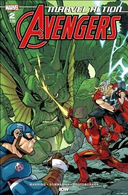 MARVEL ACTION AVENGERS #2 Main Cover (IDW Comics, 2019) NM 1st Print NM