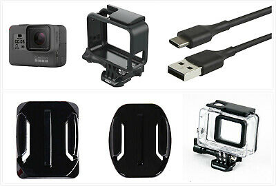 Used GoPro HERO 5 Black Waterproof Action 4K Ultra HD Camera Touch Screen Frame