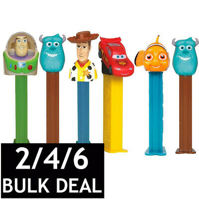 PEZ DISPENSER DISNEY PIXAR COLLECTABLE CANDY LOLLY HOLDER CHARACTER TOY 17g