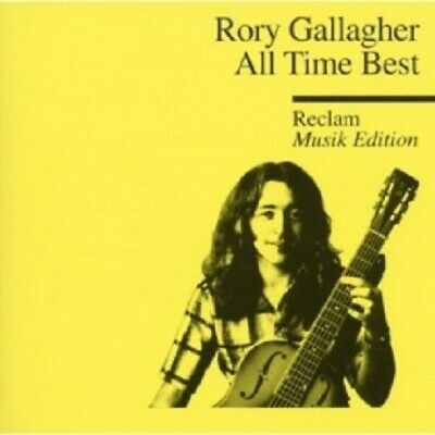 Rory Gallagher - All Time Best - Reclam Musik Edition 9  Cd 15 Tracks Rock  New!