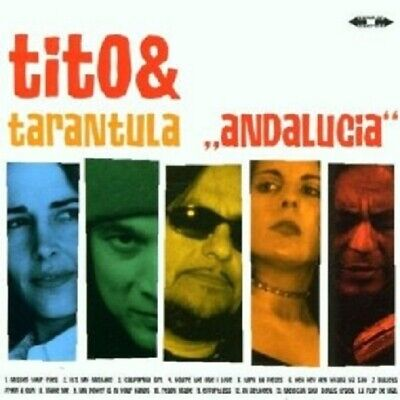 "Tito & Tarantula ""Andalucia"" Cd New!"