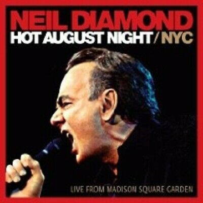 "Neil Diamond ""Hot August Night Nyc (Live)"" 2 Cd New!"
