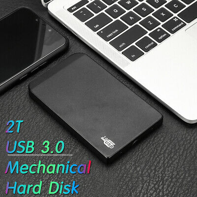 "2TB Portable External Hard Drive Disk HDD USB 3.0 2.5"" for PC/Laptop"