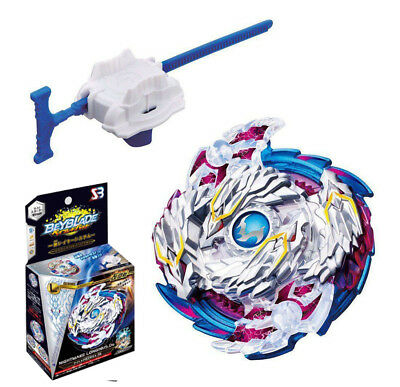 Beyblade Burst B-97 Starter Nightmare Longinus.Ds With Launcher New Spinning Top