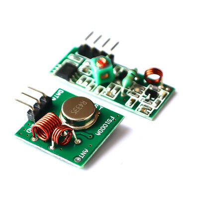 5X New 433Mhz Wireless RF Transmitter and Receiver Link kit for Arduino/ARM/MCU
